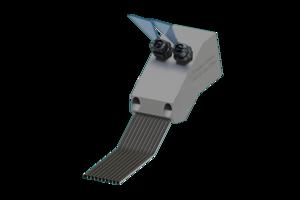 Grindaix-Düse für eine optimale Kühlschmierstoff-Versorgung beim Fertigungsverfahren Flachschleifen/Flachprofilschleifen.