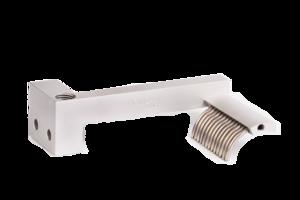Grindaix-Düse für eine optimale Kühlschmierstoff-Versorgung beim Fertigungsverfahren Innenrundschleifen.